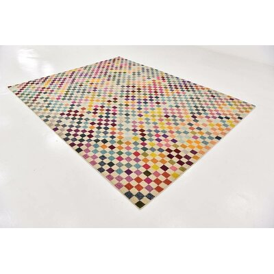 Chenango Yellow Area Rug Rug Size: Rectangle 4 x 6