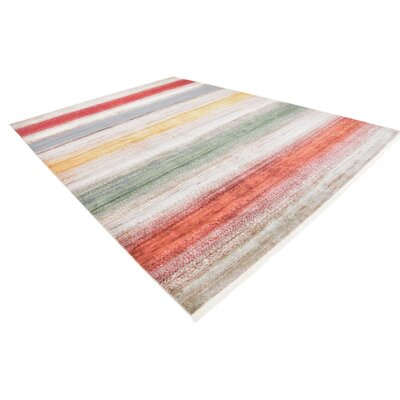 Eladia Gray Area Rug Rug Size: Rectangle 10 x 13