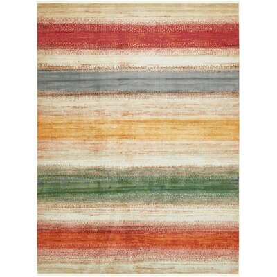 Eladia Gray Area Rug Rug Size: Rectangle 82 x 10