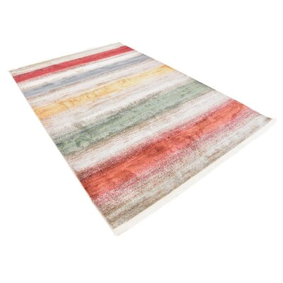 Eladia Gray Area Rug Rug Size: Rectangle 55 x 8