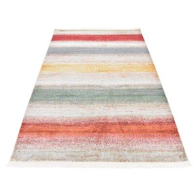 Eladia Gray Area Rug Rug Size: Rectangle 82 x 10