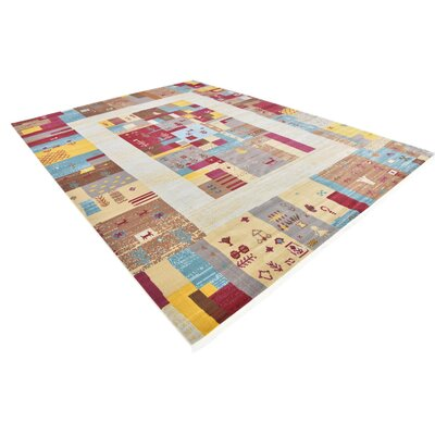 Rolling Hills Estates Yellow/Red/Brown Southwestern Area Rug Rug Size: Rectangle 10 x 13
