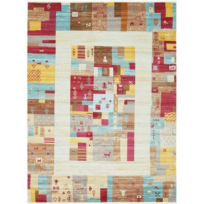 Rolling Hills Estates Yellow/Red/Brown Southwestern Area Rug Rug Size: Rectangle 22 x 3