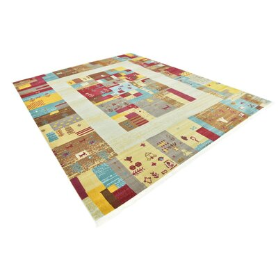 Rolling Hills Estates Yellow/Red/Brown Southwestern Area Rug Rug Size: Rectangle 82 x 10
