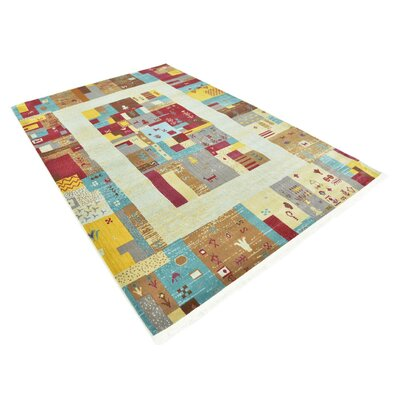 Rolling Hills Estates Yellow/Red/Brown Southwestern Area Rug Rug Size: Rectangle 55 x 8
