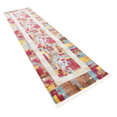 Rolling Hills Estates Yellow/Red/Brown Southwestern Area Rug Rug Size: Runner 27 x 10