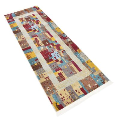 Rolling Hills Estates Yellow/Red/Brown Southwestern Area Rug Rug Size: Runner 22 x 6