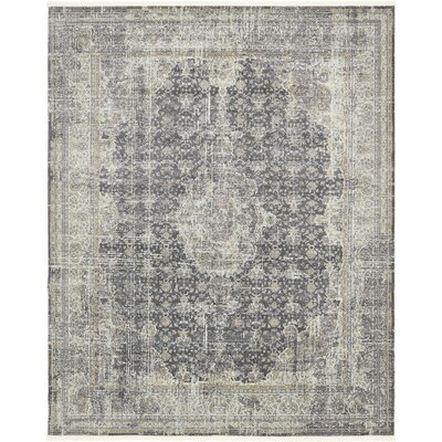 Lonerock Dark Gray Area Rug Rug Size: Rectangle 84 x 10