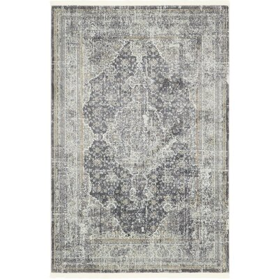 Lonerock Dark Gray Area Rug Rug Size: Rectangle 43 x 6