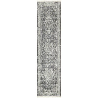 Lonerock Dark Gray Area Rug Rug Size: Runner 27 x 10