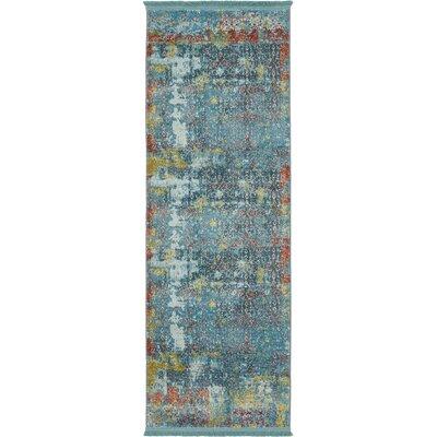 Lonerock Blue Area Rug Rug Size: Runner 22 x 6