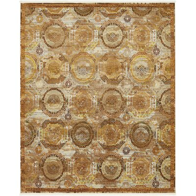 San Marcos Brown Area Rug Rug Size: Rectangle 84 x 10
