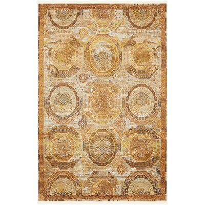 San Marcos Brown Area Rug Rug Size: Rectangle 55 x 8