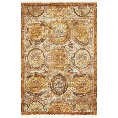 San Marcos Brown Area Rug Rug Size: Rectangle 43 x 6