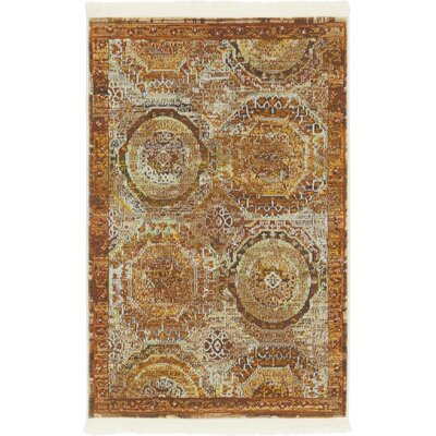 San Marcos Brown Area Rug Rug Size: Rectangle 22 x 3
