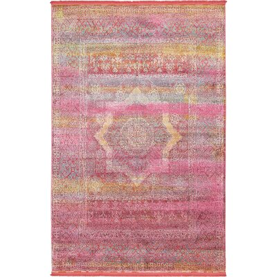 Lonerock Pink Area Rug