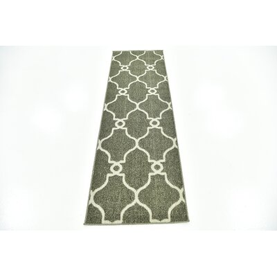 Hyder Green Area Rug