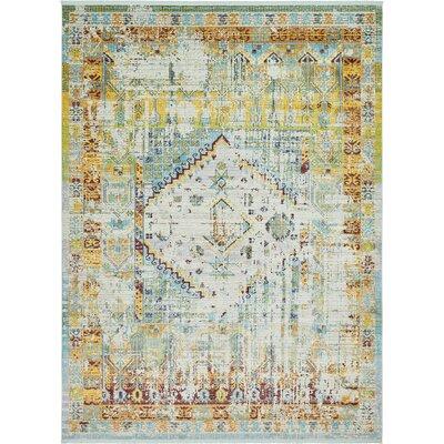 Lonerock Light Blue Area Rug Rug Size: Rectangle 10 x 13