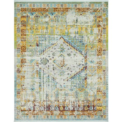 Lonerock Light Blue Area Rug Rug Size: Rectangle 84 x 10