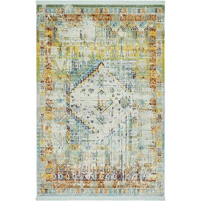 Lonerock Light Blue Area Rug Rug Size: Rectangle 43 x 6