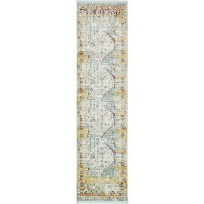 Lonerock Light Blue Area Rug Rug Size: Runner 22 x 6