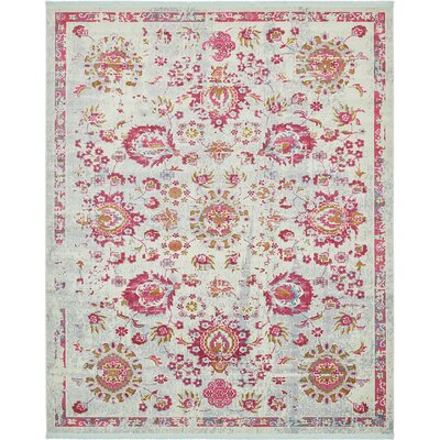 Lonerock Smooth European Pink Area Rug Rug Size: Rectangle 84 x 10