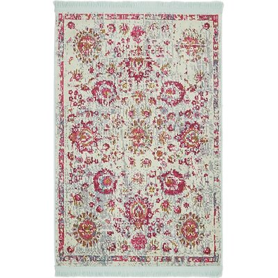 Lonerock Smooth European Pink Area Rug Rug Size: Rectangle 22 x 3