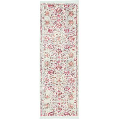 Lonerock Smooth European Pink Area Rug Rug Size: Runner 27 x 10