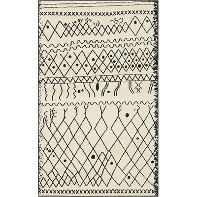Foxhill Beige Area Rug Rug Size: Rectangle 3 x 5
