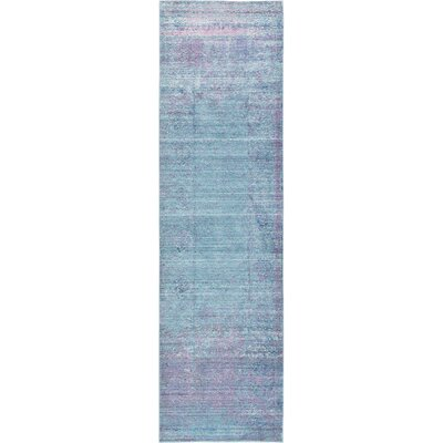 Brixton Green/Purple Area Rug Rug Size: Runner 27 x 91