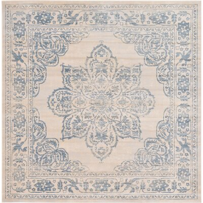 Hayley Beige Area Rug Rug Size: Square 8