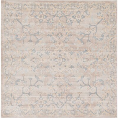 Lucille Area Rug Rug Size: Square 8