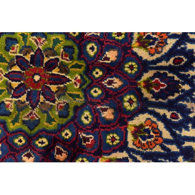 One-of-a-Kind Winterstown Persian Hand-Knotted Wool Ivory Area Rug