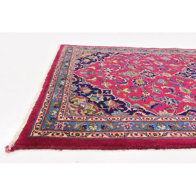One-of-a-Kind Winterstown Stain-Resistant Persian Hand Woven 100% Wool Red Area Rug