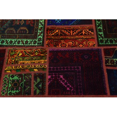 One-of-a-Kind Sela Vintage Persian Hand Woven Wool Orange/Brown Area Rug
