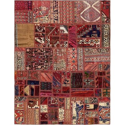 One-of-a-Kind Sela Vintage Persian Hand Woven Wool Red/Brown Area Rug