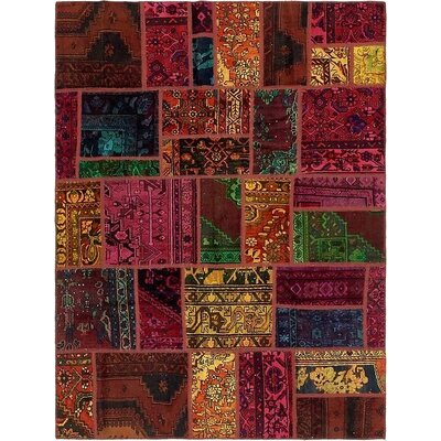 One-of-a-Kind Sela Vintage Persian Hand Woven Wool Red Area Rug