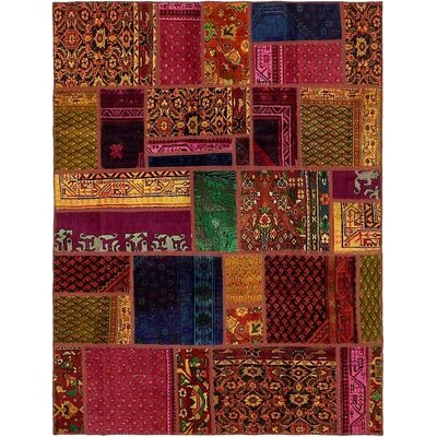One-of-a-Kind Sela Vintage Persian Hand Woven 100% Wool Orange/Red Area Rug