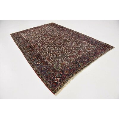 One-of-a-Kind Jaida Persian Hand Woven Wool Rectangle Beige Area Rug