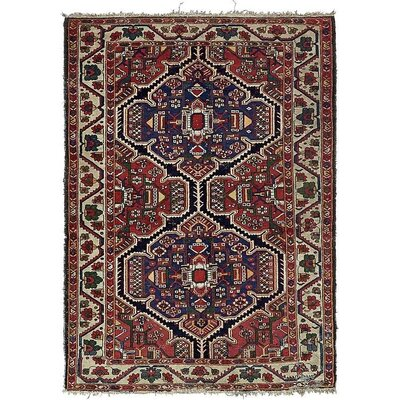 One-of-a-Kind Jaida Persian Hand Woven 100% Wool Red Area Rug