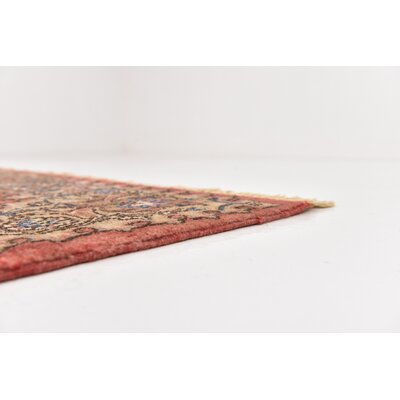 One-of-a-Kind Wisner Persian Hand Woven 100% Wool Red Oriental Area Rug