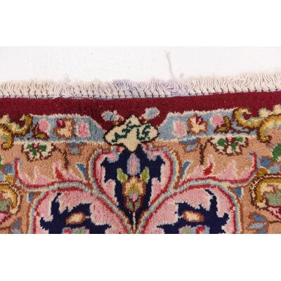 One-of-a-Kind Bellflower Persian Hand Woven Wool Red Oriental Area Rug