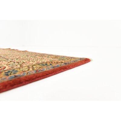 One-of-a-Kind Bellingdon Persian Hand Woven Wool/Silk Tan Area Rug