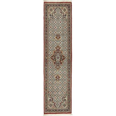 One-of-a-Kind Wollano Persian Hand Woven Wool Runner Red Area Rug