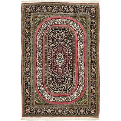 One-of-a-Kind Wollano Persian Hand Woven Wool Brown Area Rug