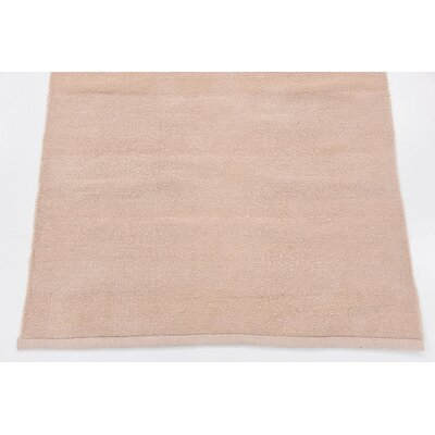 Shakia Hand woven Wool Beige Area Rug