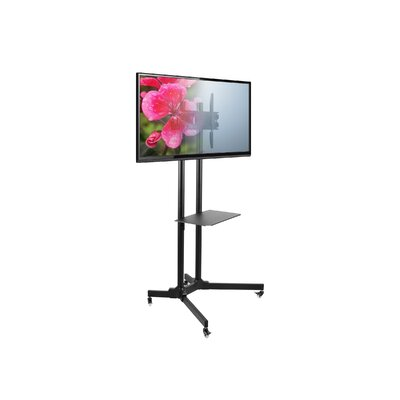 SM61 Mobile Fixed Floor Stand Mount 30-65 Flat Panel Screens