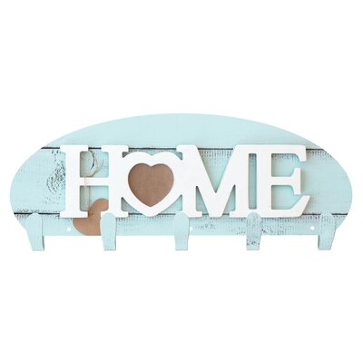 Home Heart 5 Hook Wall Mounted Coat Rack 101411001-HOMEHEART