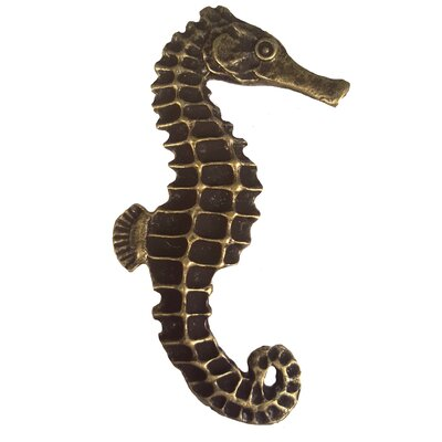 Tropical Seahorse Right Facing Novelty Knob