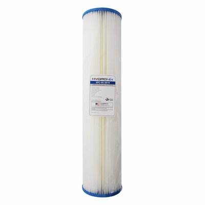 Polyester Pleated 10 Micron Under Sink Replacement Filter